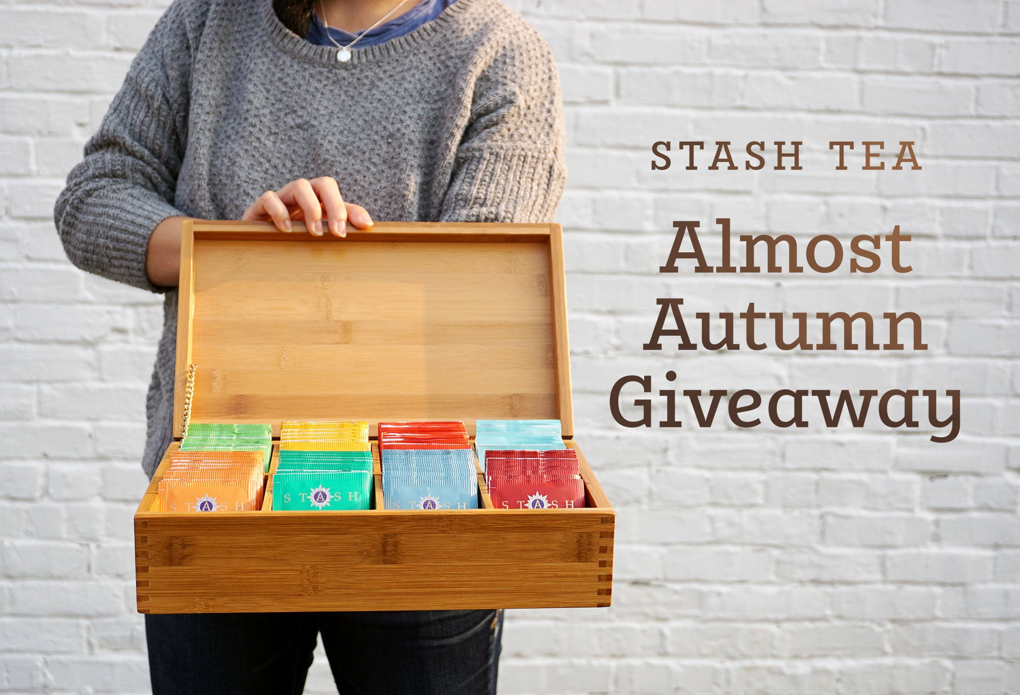 Stash Tea Almost Autumn Giveaway