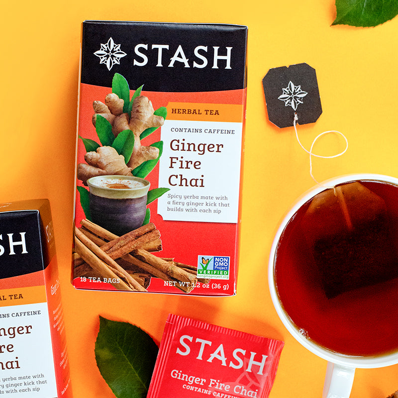 Featured Fan Favorite Tea | Ginger Fire Chai | Stash Tea