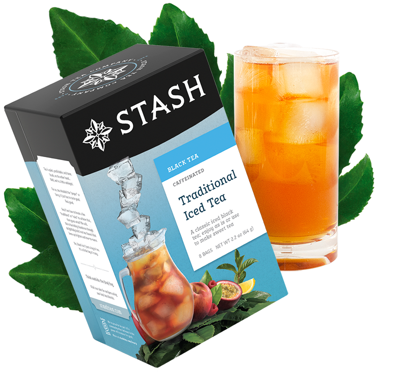 Traditional Iced Black Tea Quart Sized Brew Bags | Stash Tea