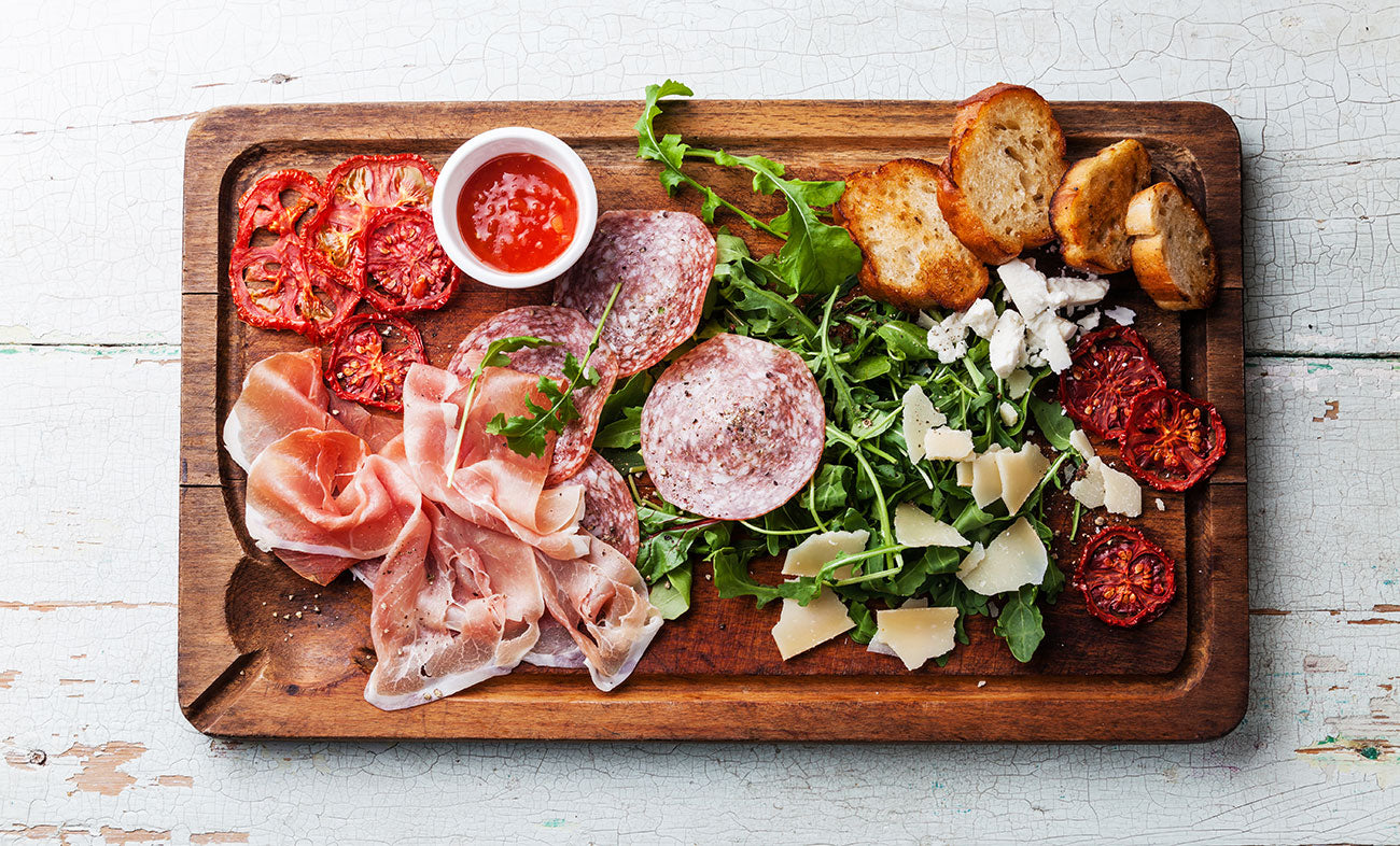 Tea and Antipasto Pairings