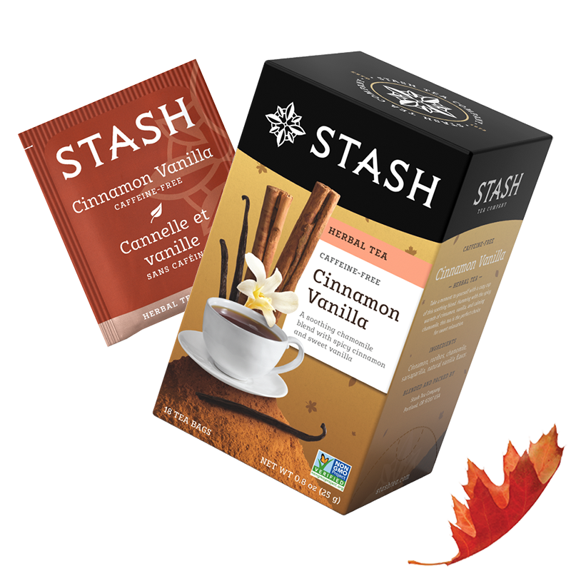 Cinnamon Vanilla Herbal Tea | Fall Tea | Stash Tea