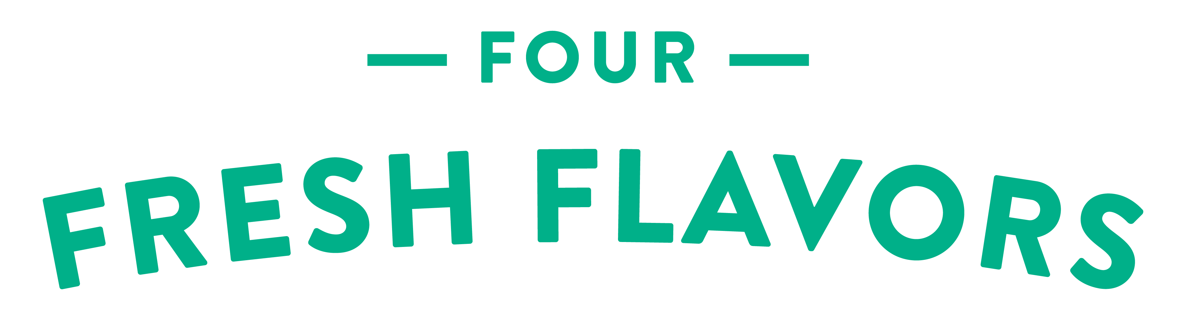 Introducing Four Fresh Flavors