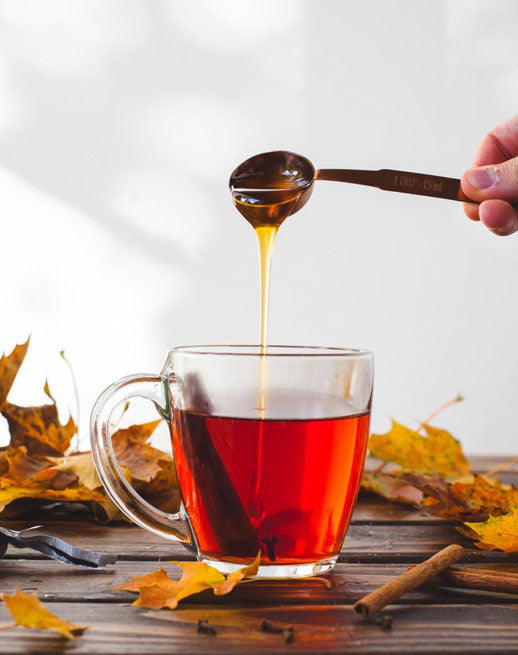 Maple Cider Tea Hot Toddy