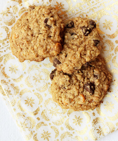 oatmeal scotchies with chocolate chips