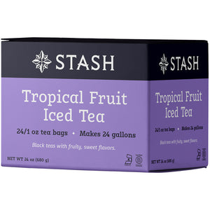Tropical Fruit Black Iced Tea Brew Bags | Stash Tea