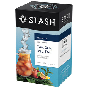 Earl Grey Black Iced Tea Brew Bags | Stash Tea