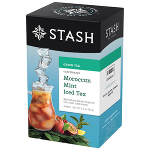 Moroccan Mint Green Iced Tea Brew Bags | Stash Tea