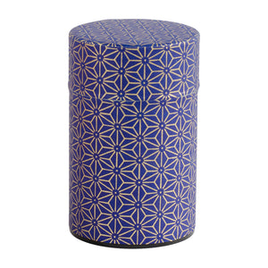 Purple & Gold Star Japanese Wazome Paper Tea Canisters | Stash Tea