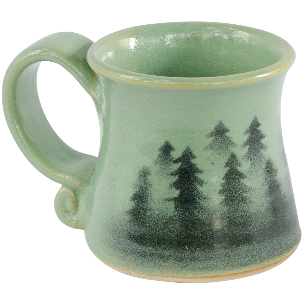 Handcrafted Forest Trees Mug