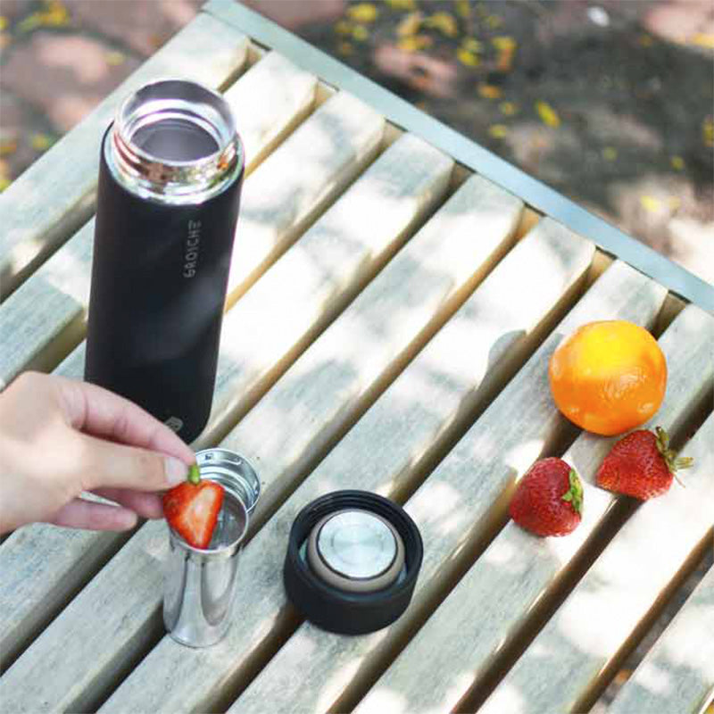 Chicago Vacuum Insulated Tea Infuser Travel Bottle