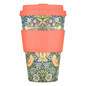 William Morris Strawberry Thief Travel Cup 14 oz | Stash Tea