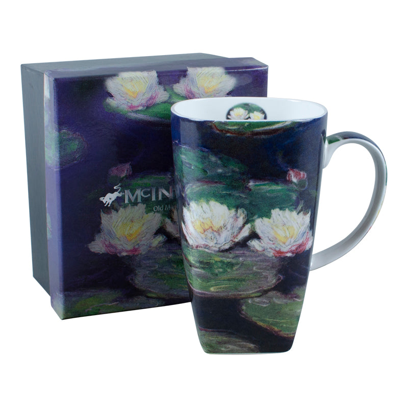 Monet Water Lilies Grande Mug in Gift Box