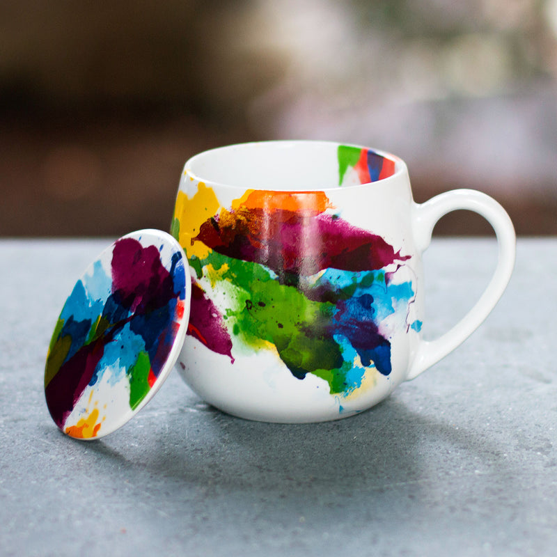 Color Splash Tea for You Mug Set