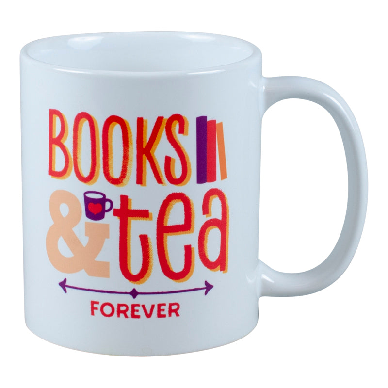 Books and Tea Forever Mug in Gift Box
