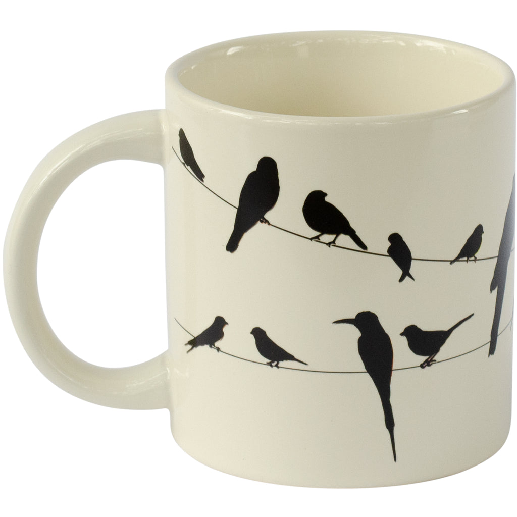 Birds On A Wire Morph Mug