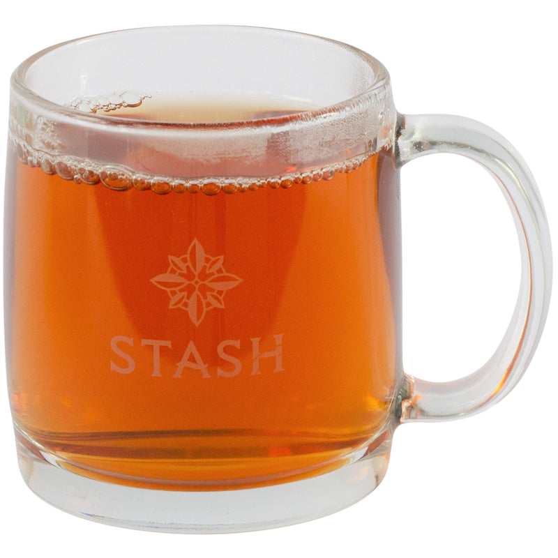 Stash Premium Glass Logo Mug