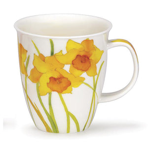 Dunoon Fine Bone China English Daffodil Mug