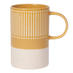 Ochre Etch Mug 12 oz | Stash Tea