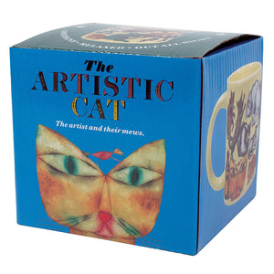 Artistic Cat Mug 10 oz | Stash Tea