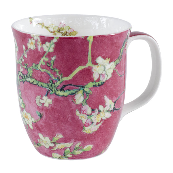 Van Gogh Red Almond Blossom Mug In Gift Box 12 oz | Stash Tea