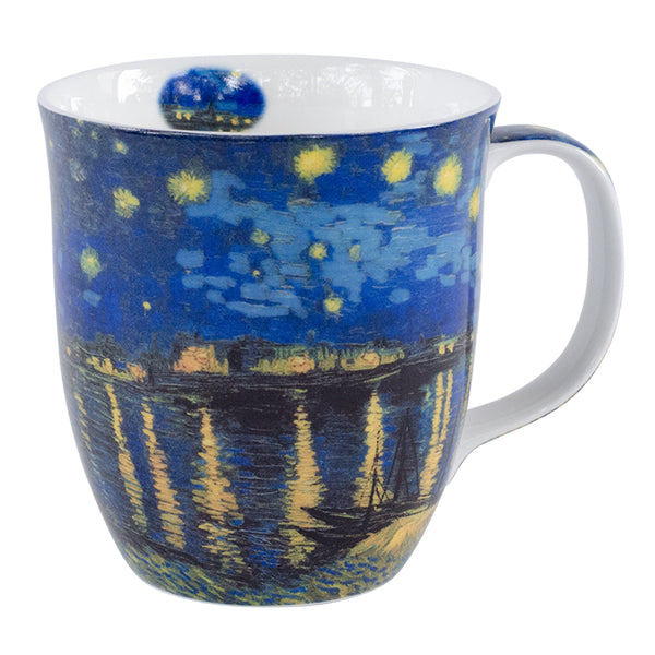 Van Gogh Starry Night Over The Rhone Mug In Gift Box | Stash Tea