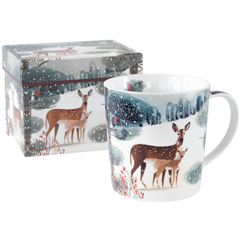 Holiday Meadow Mug in Gift Box 14 oz | Stash Tea