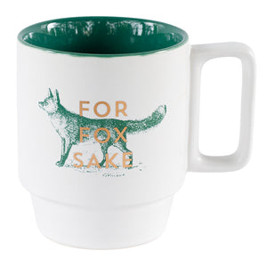 For Fox Sake Vintage Sass Mug 14 oz | Stash Tea