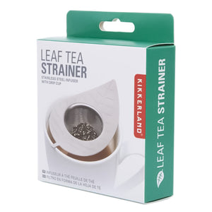 Leaf Tea Strainer with Drip Cup | Stash Tea