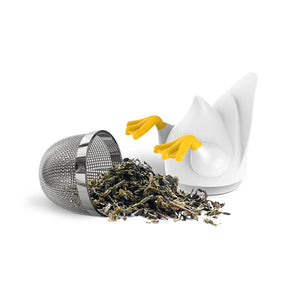 Duck Duck Drink ABS, Stainless Steel Tea Infuser | Stash Tea