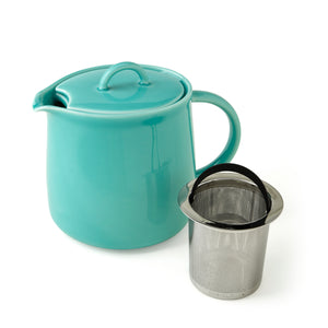 ForLife Seafoam D'Anjou Teapot with Infuser 20 oz | Stash Tea