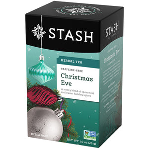 Christmas Eve Herbal Tea Bags | Holiday Tea | Stash Tea