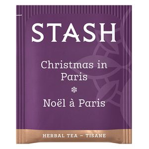 Christmas in Paris Herbal Tea Bags | Holiday Tea | Stash Tea