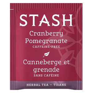 Cranberry Pomegranate Herbal Tea Bags | Fall Tea | Stash Tea