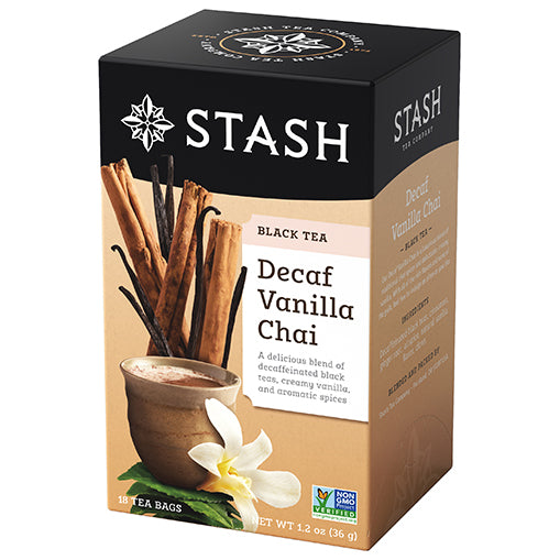 Vanilla Chai Decaf Black Tea