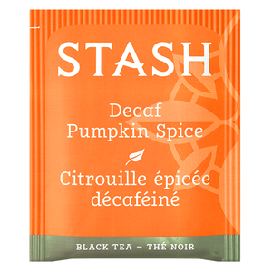Pumpkin Spice Decaf Black Tea Bags | Fall Tea | Stash Tea