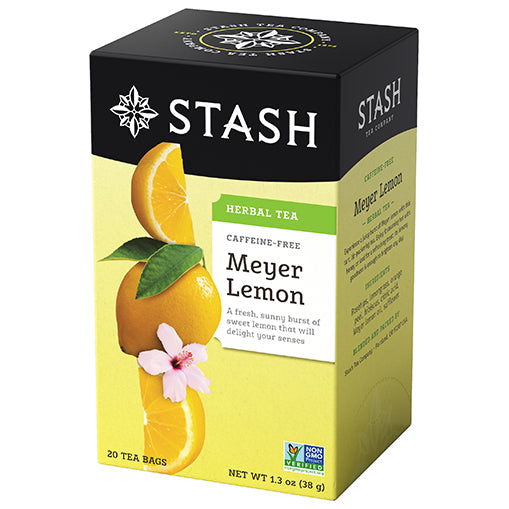 Meyer Lemon Herbal Tea Stash Tea