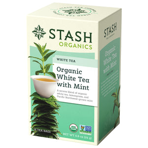 Organic White Tea with Mint