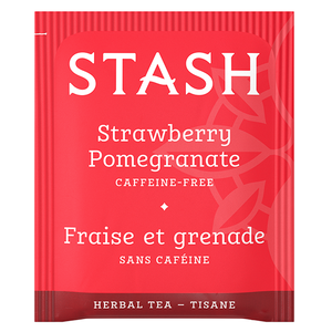 Strawberry Pomegranate Red Herbal Tea