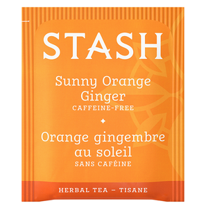 Sunny Orange Ginger Tea