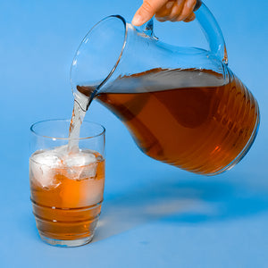Recycled Glass Rings Iced Tea Pitcher 50 oz | Stash Tea