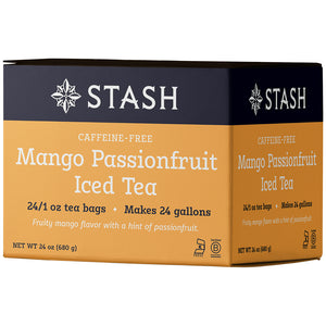 Mango Passionfruit Herbal Iced Tea Brew Bags | Stash Tea