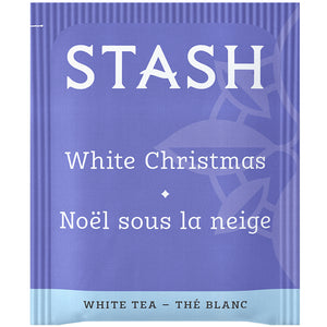White Christmas White Tea Bags | Limited Edition Holiday Tea | Stash Tea