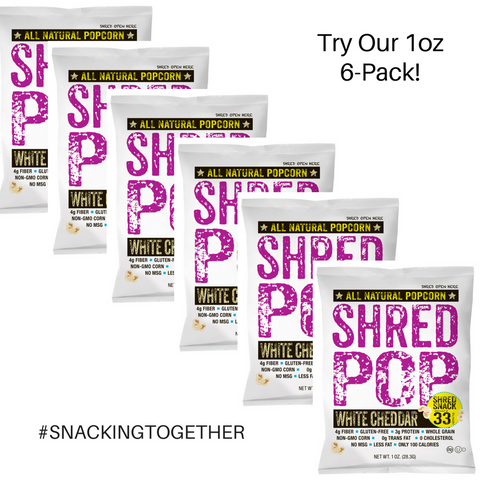 SHRED POP 1 oz  (6 Pack)