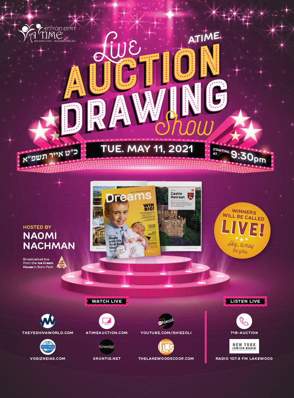 Live Auction Drawing