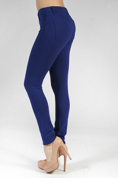 Leggings- Skinny Ponte Pants with Pockets