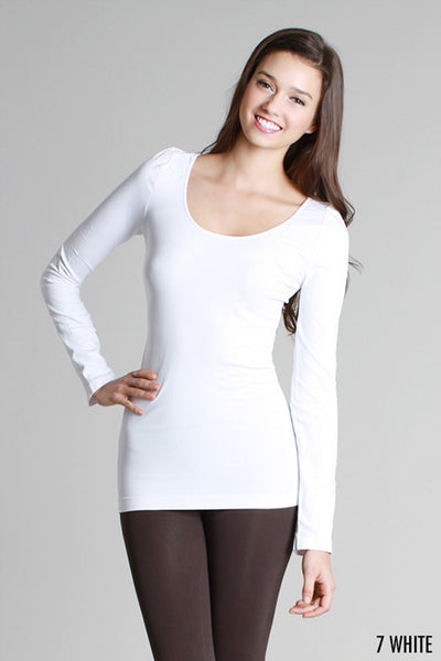 Basic- Absolute must!  Niki Biki Long Sleeve Camisoles- One Size