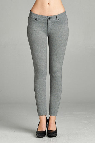 Apparel-Five Pocket Ponte Pant
