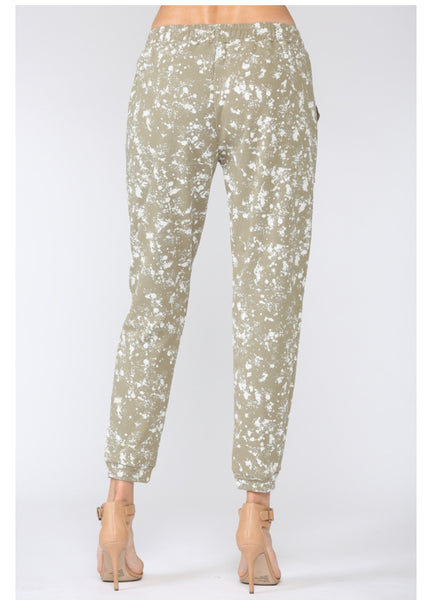 Apparel-Danielle Splatter Paint Jogger