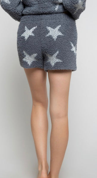 Apparel- Lowery Star Shorts Gray