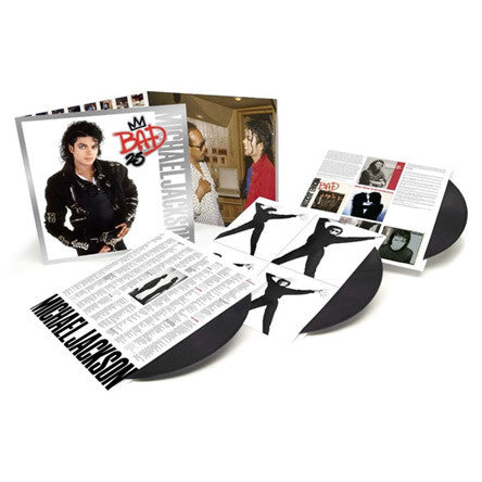 Michael Jackson - Bad 25th Anniversary Deluxe Vinyl
